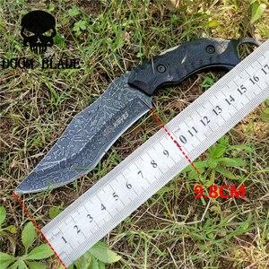 Image 2 - Sabit bıçak bıçak 8CR13MOV çelik bıçak naylon kılıf savaş bıçakları için iyi avcılık kamp Survival açık ve günlük taşıma
