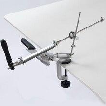 סכין מחדד עם 360 תואר flip קבוע זווית טחינת כלים מכונה מטחנת אבן משחזת יהלום KME פונקציה