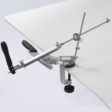 Apontador de faca com 360 graus flip ângulo constante ferramentas moagem moedor máquina diamante pedra amolar kme função