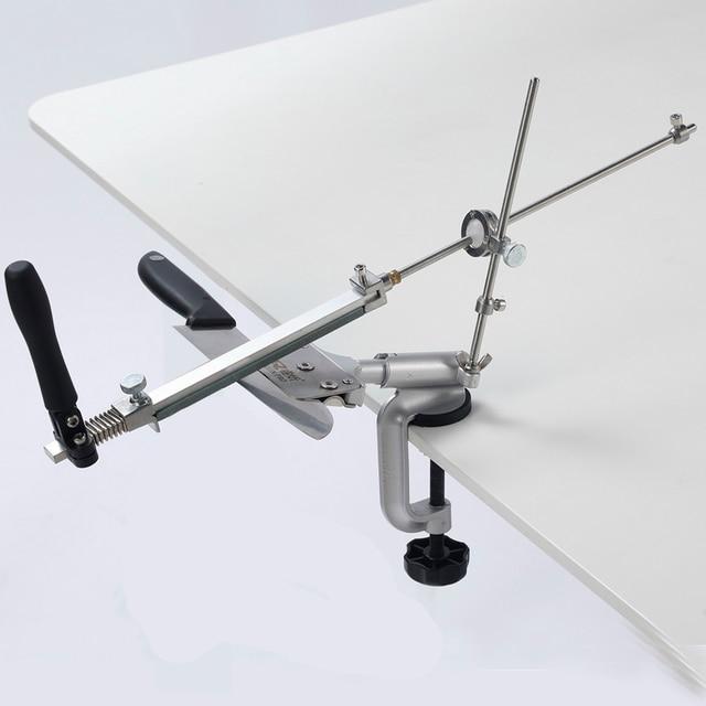 มีด sharpener 360 องศาคงที่มุมบดเครื่องมือเครื่องบดเพชร Whetstone KME ฟังก์ชั่น