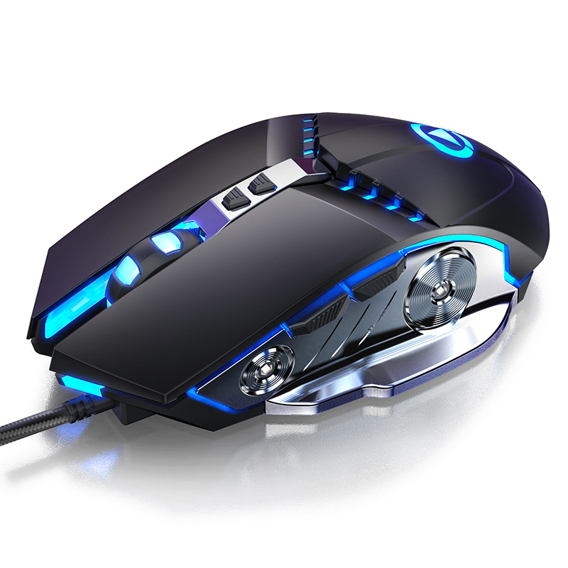 USB Wired Mouse Professional 7 Buttons Adjustable With LED Optical Gamer Mice 3500 DPI For PC Gaming Laptops Computer Gamer