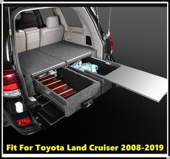 Fit For Fit For Toyota Land Cruiser LC200 2008-2019 5 Seats/8 Seats Inner Rear Door Armrest Storage Box Pocket