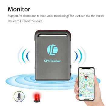 Real-time TK102B Mini GPS Tracker Waterproof Movement Alarm Locator Car Vehicle Tracking Device image