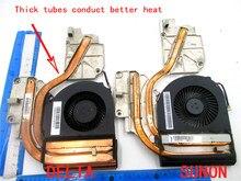Вентилятор радиатора для Lenovo Y480 Y480A Y480M Y480N Y480P KSB0805HC BJ65 90200382 90200381 AT0MZ002DA0 AT0MZ001SS0 MG60120V1-C160-S99