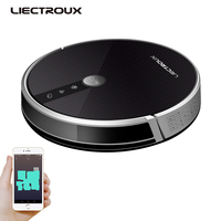(Brazil warehouse) LIECTROUX Robot Vacuum Cleaner C30B Wifi, Cleaning Map Display,Map Navigation, Electric Water Tank