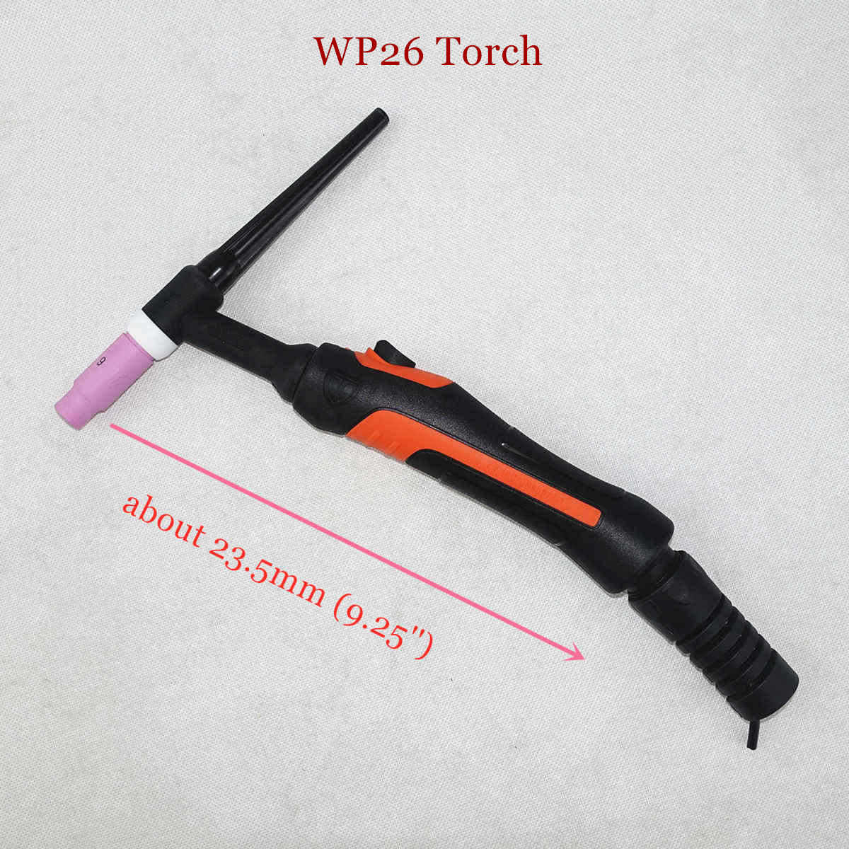 Professional WP26 TIG Torch GTAW Gas Tungsten Arc Welding Argon Air Cooled