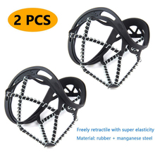 Shoe-Cover Outdoor Ice Cleats 1-Pair Traction Route Crampons Ice-Grip Snow Non-Slip Walk