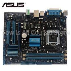 Оригинальная материнская плата для ASUS P5G41T-M LX V2 DDR3 LGA 775 USB2.0 VGA SATA II 8GB G41