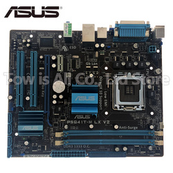 original motherboard for ASUS P5G41T-M LX V2 DDR3 LGA 775 USB2.0 VGA SATA II 8GB G41 USED Desktop Motherboard
