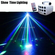 3 в 1 dj led лазерный стробоскоп дистанционного Управление диско