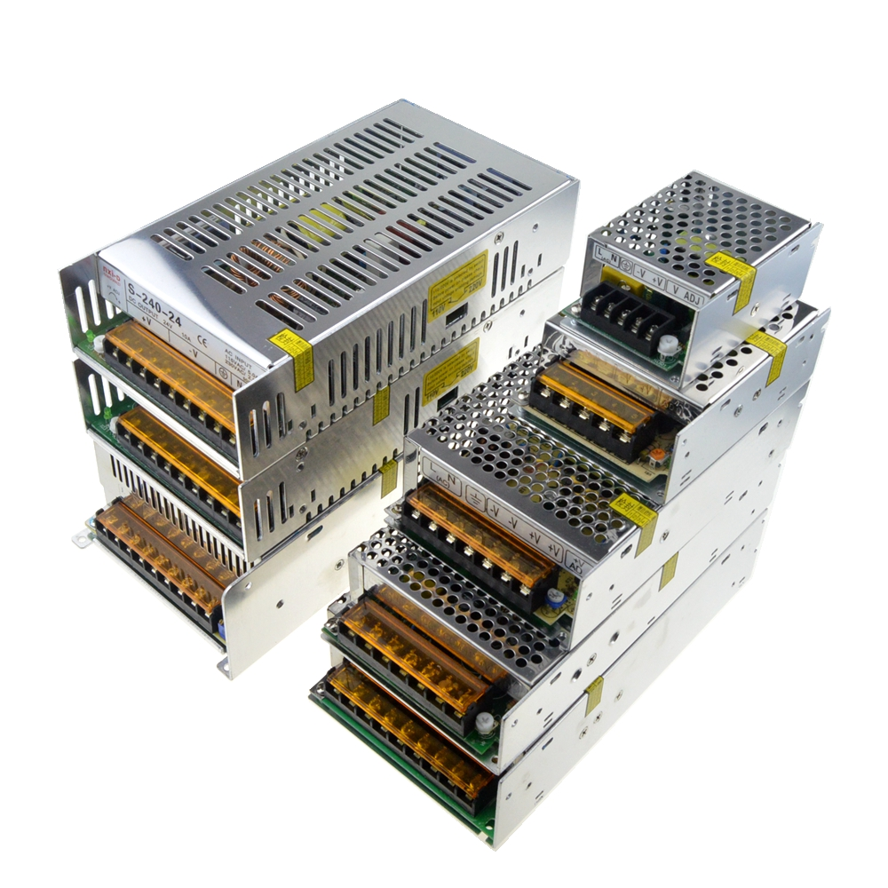 Transformator <font><b>220V</b></font> AC DC Switch <font><b>Power</b></font> <font><b>Supply</b></font> Regulator 5V 110V 60V 36V 30V 24V 18V 15V <font><b>12V</b></font> 2A 3A 4A 5A 6A 10A Led <font><b>Modul</b></font> Driver image