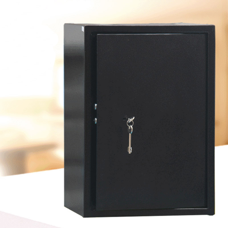 Safes Anti-theft Key Storage Bank Safety Box Black Security Money Jewelry Storage Collection Home Office Security Box DHZ0052