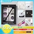 Rosalind 6 шт./компл. акриловый порошок для наращивания ногтей дизайн резьбы для дизайна ногтей гель для маникюра Набор инструментов для ногтей ...