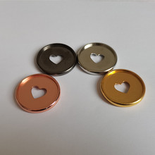 Binding-Supplies Disc-Button Notebook Loose Leaf DIY Plastic Office 35mm 50pieces Electroplated