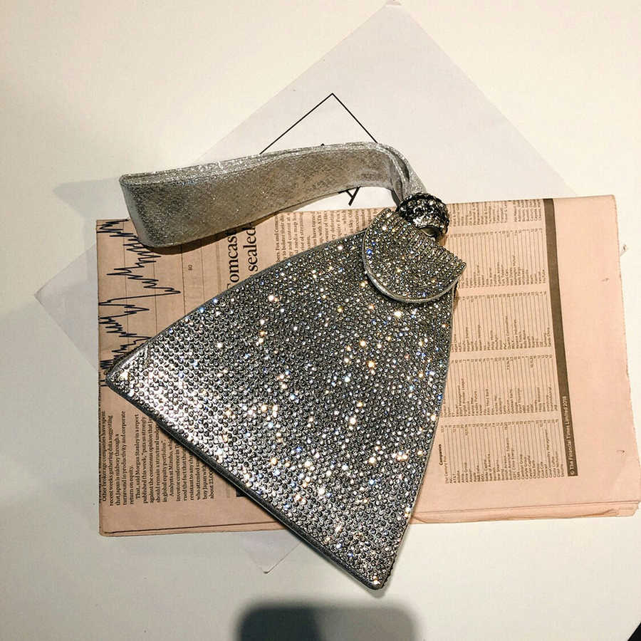 Koreanische Diamanten Abend Kupplung Taschen Sommer 2019 Abendessen Mode Box Abend Tasche Geldbörse Geldbörsen Für Party Damen Tote Tasche Hochzeit