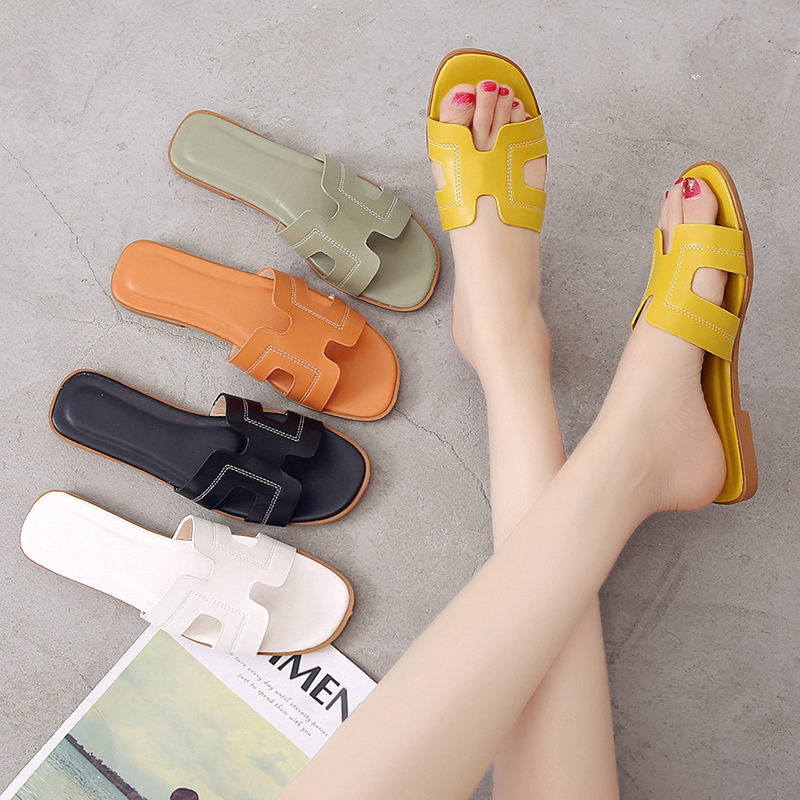 2020 New Summer Slipper Sansals Fashion Women Slides Flats
