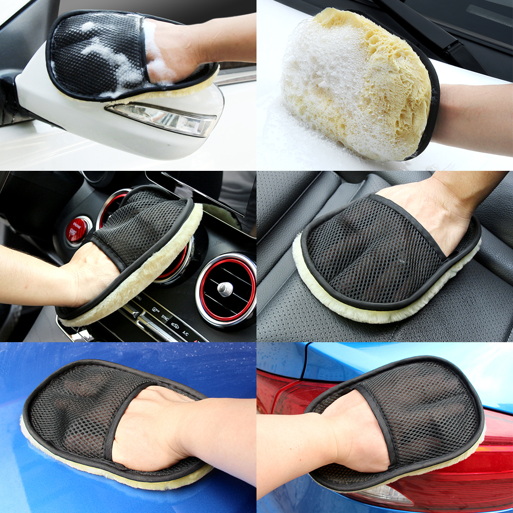 Image 5 - New Sale Car Styling Car Washing Gloves for Skoda Fabia 2 3 Karoq Kodiaq Octavia 3 Superb 2 3 Combi Yeti Car Accessories-in Car Tax Disc Holders from Automobiles & Motorcycles