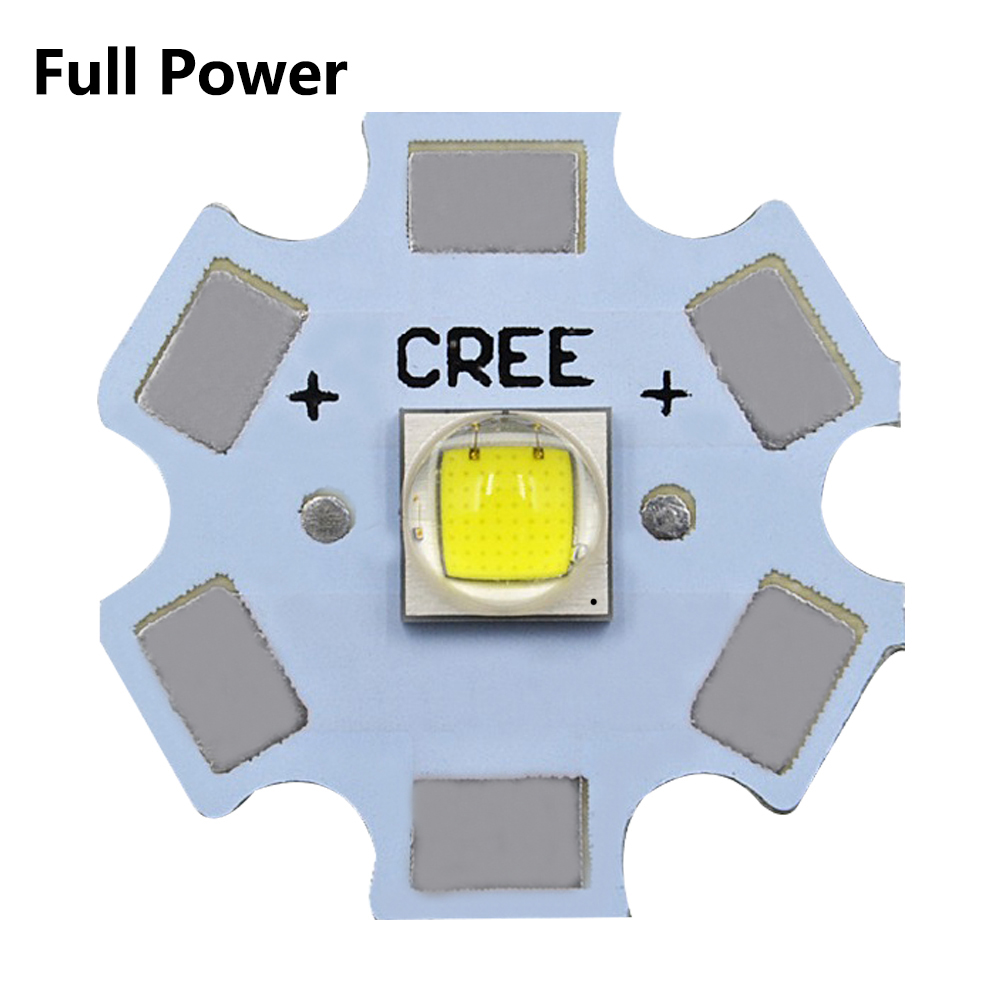 10W XML2 T6 Lights Full Power LED CREE 3V 3535 5050 1-3W 5-6W 10W 18W For LED Flashlight Lamp Bead White 6500K 10000K With Base