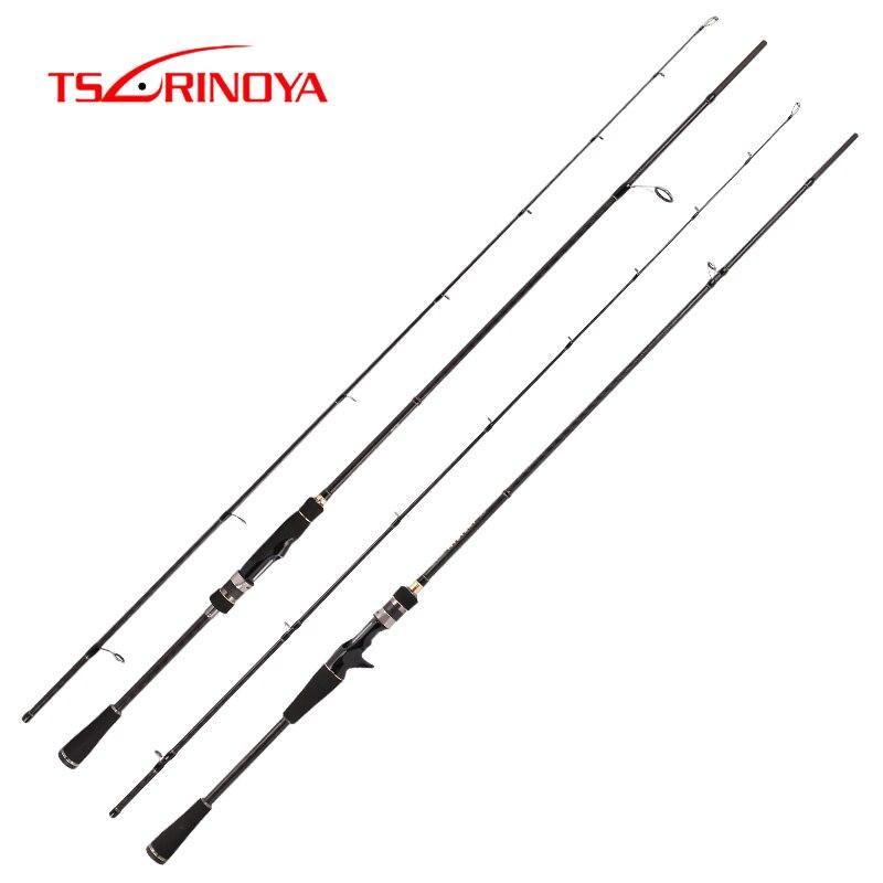 TSURINOYA Fishing Rod MYSTERYII 2 1m 1 98m Spining Casting rod fishing lure rod Bass FUJI