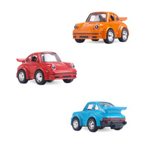 Cute Cartoon M Size for Beatle Classical Car Toy Model Set for Mini Alloy Car Children Auto Mobile Model Toy Toys for Children universal aluminum alloy car body post set for r c model car toys purple black silver