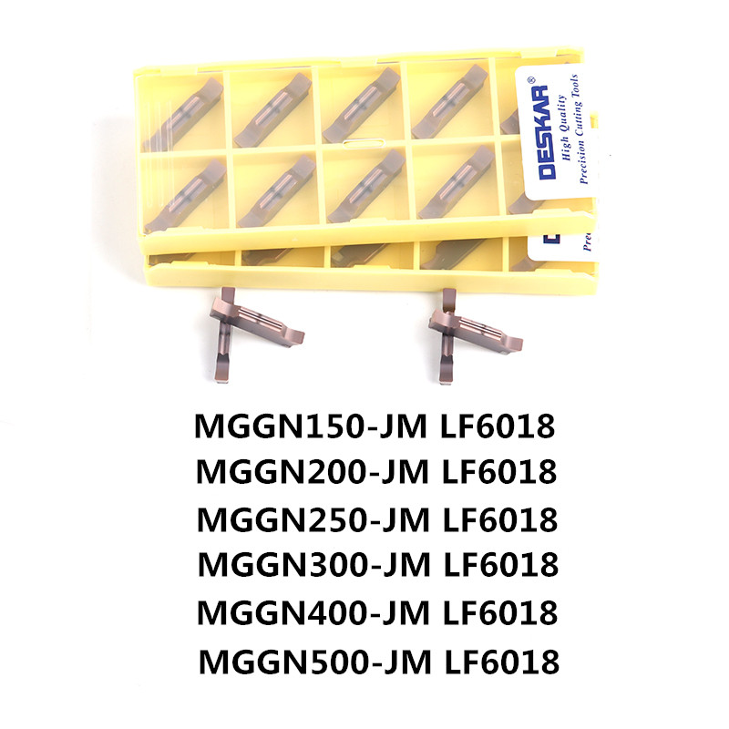 DESKAR  MGGN150 MGGN200 MGGN250 MGGN300 MGGN400 MGGN500  JM Carbide Inserts Slotted Groove CNC Lathe Cutting Tool For Metal