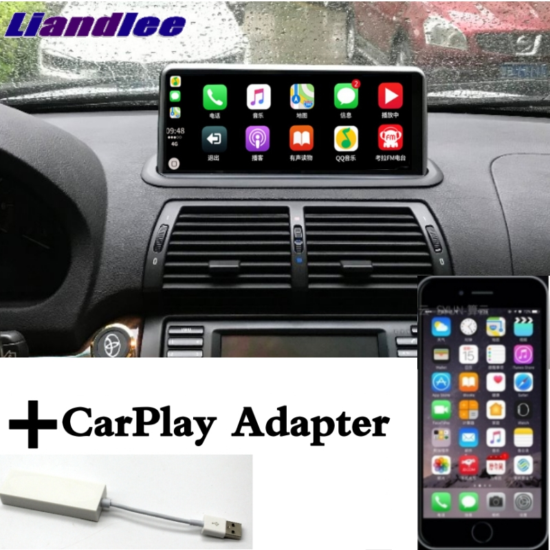 Liandlee Car Multimedia Player NAVI For BMW <font><b>X5</b></font> <font><b>E53</b></font> 1999 2000 2001 2002 2003 <font><b>2004</b></font> 2005 2006 CarPlay Radio Idrive GPS Navigation image