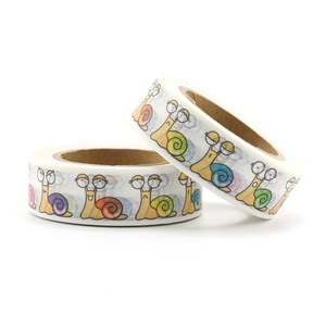 Image 4 - Top sales Fresh Floral, cute animal design Washi Tape Strawberry Sticky Adhesive Tape Various Patterns Masking Tape