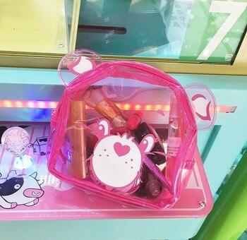 Novedad de verano, productos de dibujos animados, Lindo bolso cosmético de oso Arco Iris, bolso impermeable para niñas, bolso de lavado, bolso de mano suave para chica