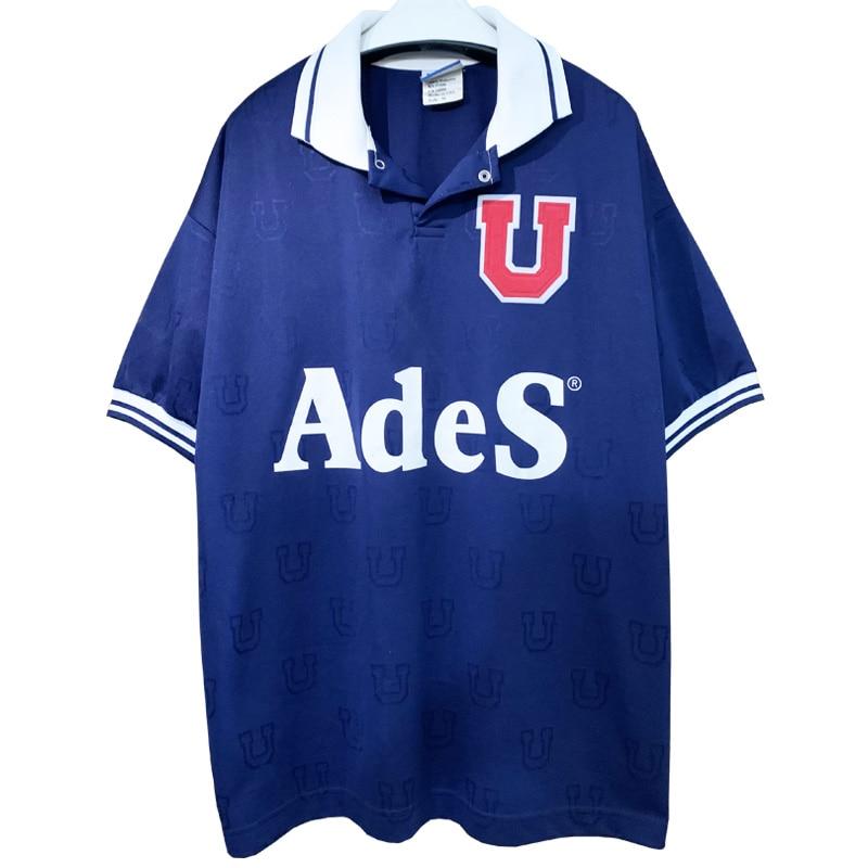 Ретро 1998 университет Чили домашняя футбольная майка футболка Camiseta U-де-Чили по индивидуальному заказу Гонсалес Баррера Mafla гальдамес