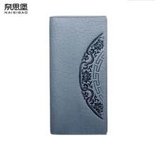 цена на 2019 New women genuine leather wallets designer brands fashion embossing zipper long womens wallets leather clutch bags