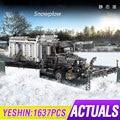 MOC Technic City series машина для уборки снега  отличные транспортные средства  строительные блоки  модель кирпича  совместимая с Lepining 42078  грузовик  и...