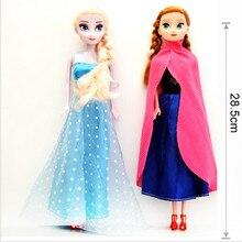 Princesa original elsa boneca anna neve rainha crianças meninas brinquedos aniversário presentes de natal para crianças sharon bonecas