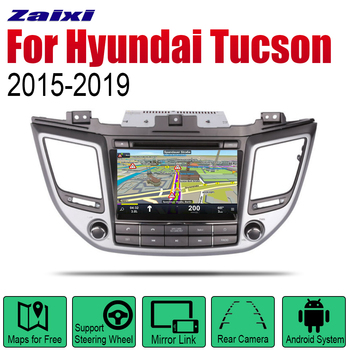 ZaiXi Android 2 Din Auto Radio DVD For Hyundai Tucson TL 2015~2019 Car Multimedia Player GPS Navigation System Radio Stereo RHD