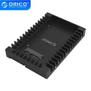 ORICO 1125SS 2.5 to 3.5 inch Hard Drive adapter Caddy Support SATA 3.0 Support 7/9.5/12.5mm 2.5 inch SATA HDD hard disk SSD