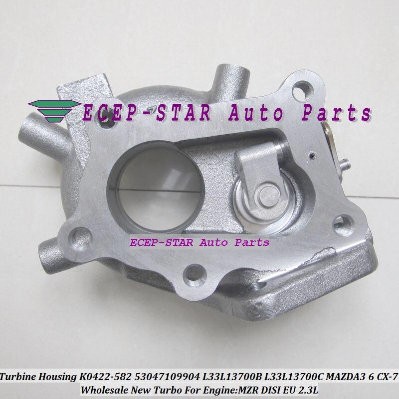 Turbo Exhaust Turbine Housing K0422-582 K0422582 53047109904 L33L13700B L33L13700C L3YC1370Z For MAZDA 3 6 CX-7 MZR DISI EU 2.3L