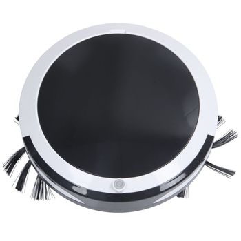 Rechargeable Smart Robotic Vacuum Cleaner For Home Sweeping Robot Wireless Vacuum Automatic Sweeping Mopping Vacuuming Wet Dry U