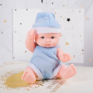 Image 5 - Lol lalki zabawki dla dziewczynek reborn silikonowe Reborn lalki wykonane, aby przenieść lalki dziecko prawdziwe noworodka montaż lalki 3D oczy piłki