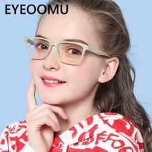 Очки eyeoomu tr90 детские складные оптические с защитой от сисветильник