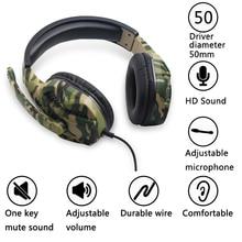 цена Gaming Headset Camouflage PS4 PC Xbox One Gaming headphone Gaming earphonewith Microphone Laptop Phone онлайн в 2017 году