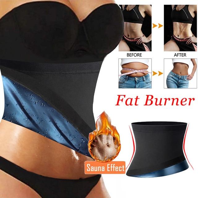 Neoprene Sweat Waist Trainer Corset Trimmer Belt for Women Weight Loss Waist Cincher Shaper Slimmer Faja Shapewear