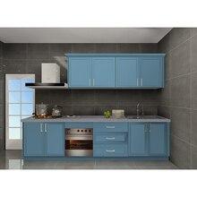 3d дизайн кухни Американский дом дешевые лаковые кухонные шкафы цена