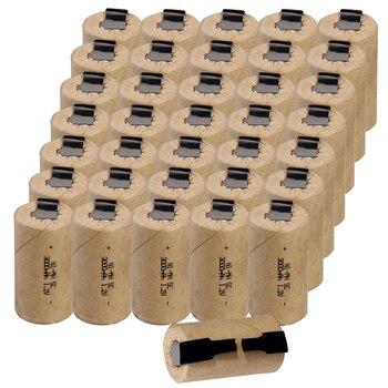 3000mAh prawdziwa pojemność gwarantowana NIMH dla B & D taśma lutownicza SC baterie sub C bateria akkus 1.2V dla elektronarzędzi