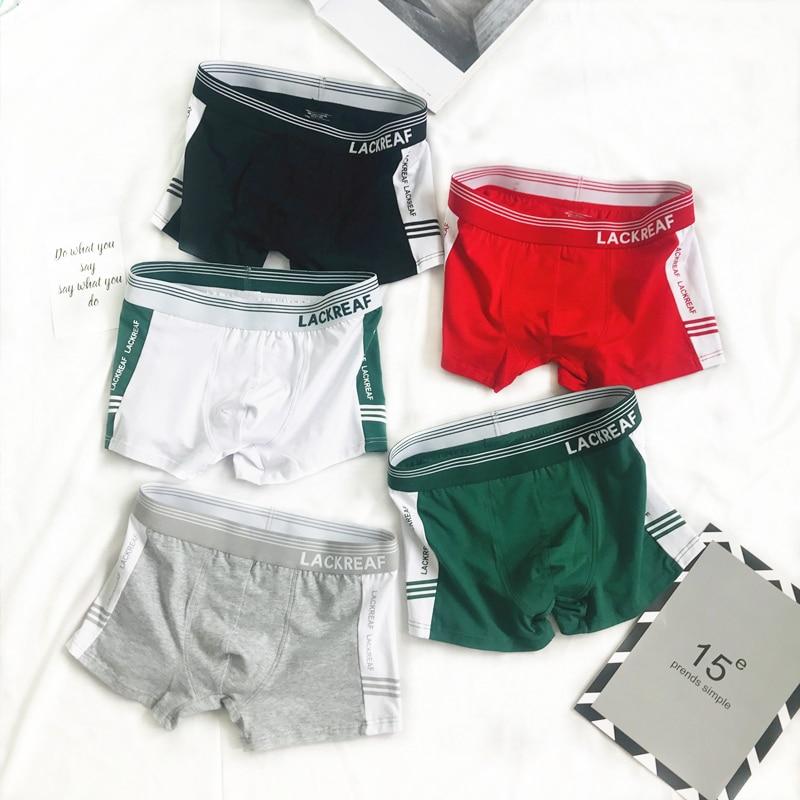 Men Boxer Solid Color Man Underwear Boxers Cotton Pouch Sports Style Fashion Simplicity Men Underwear Boxers Shorts 2020 On Sale