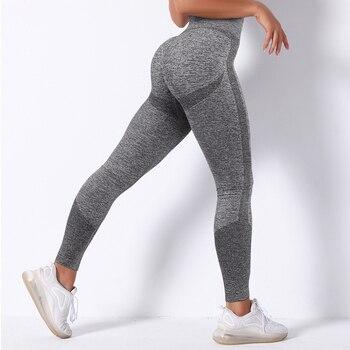 RUUHEE Seamless Legging Yoga Pants Sports Clothing Solid High Waist Full Length Workout Leggings for Fittness Yoga Leggings 22