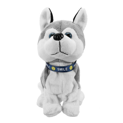 Bark Stand Walk Sound Control Electronic Robot Dog Kids Plush Toy Sound Control Interactive Electronic Toys Dog For Baby gifts Islamabad