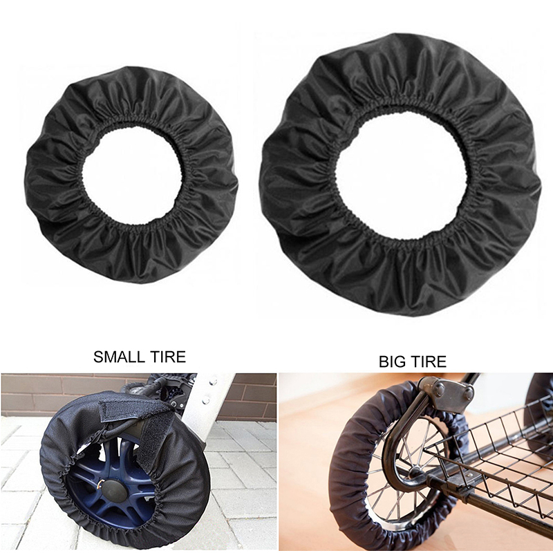 1Pc Baby Stroller Wheel Anti Dustproof Cover Anti-Dirty Case Waterproof Protection Wheel Cover Baby Stroller Accessories