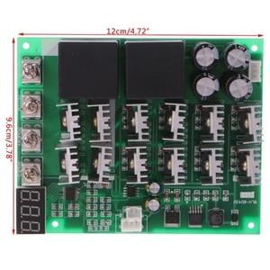 Image 5 - DC 10 55V 12V 24V 36V 48V 55V 100A Bộ Điều Khiển Tốc Độ Động Cơ PWM HHO RC Ngược Điều Khiển Có Màn Hình LED Hiển Thị