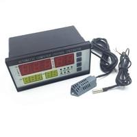 무료 배송 XM-18 인큐베이터 컨트롤러 ac 180 v-240 v  온도 및 습도 감지기가있는 50 hz xm-인큐베이터 컨트롤러