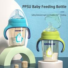 Feeding-Bottles Training Bpa-Free Baby Anti-Colic Infant Qshare PPSU