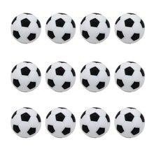 12 шт. подарок для детей спортивные развлечения ABS Мини футбольная активность замена мяч Прочный Стол футбол набор Крытая игра круглый